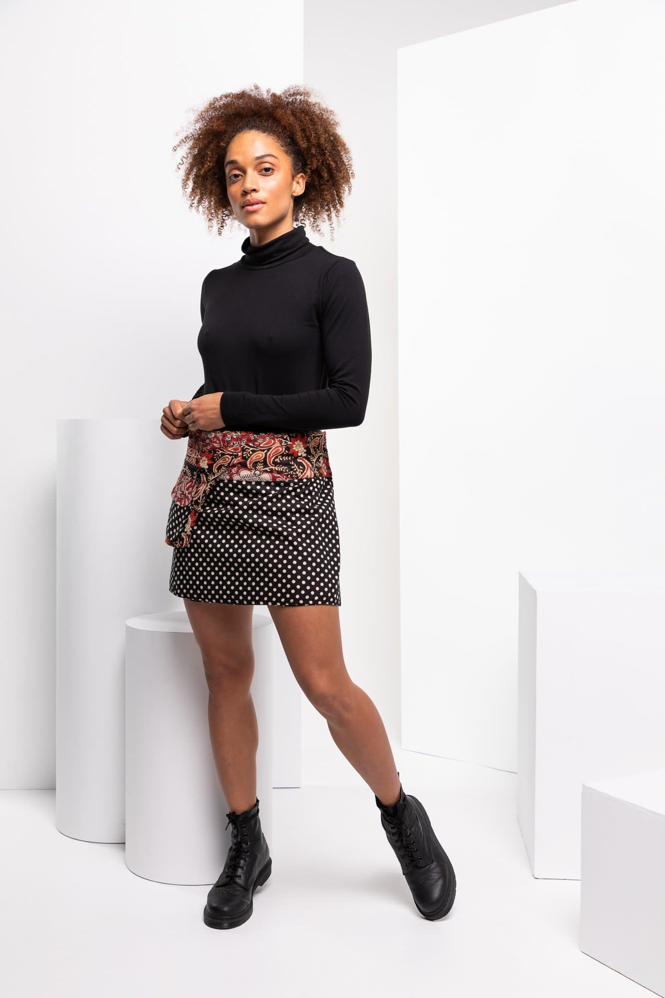 Rosanna Skirt Short - Newtown