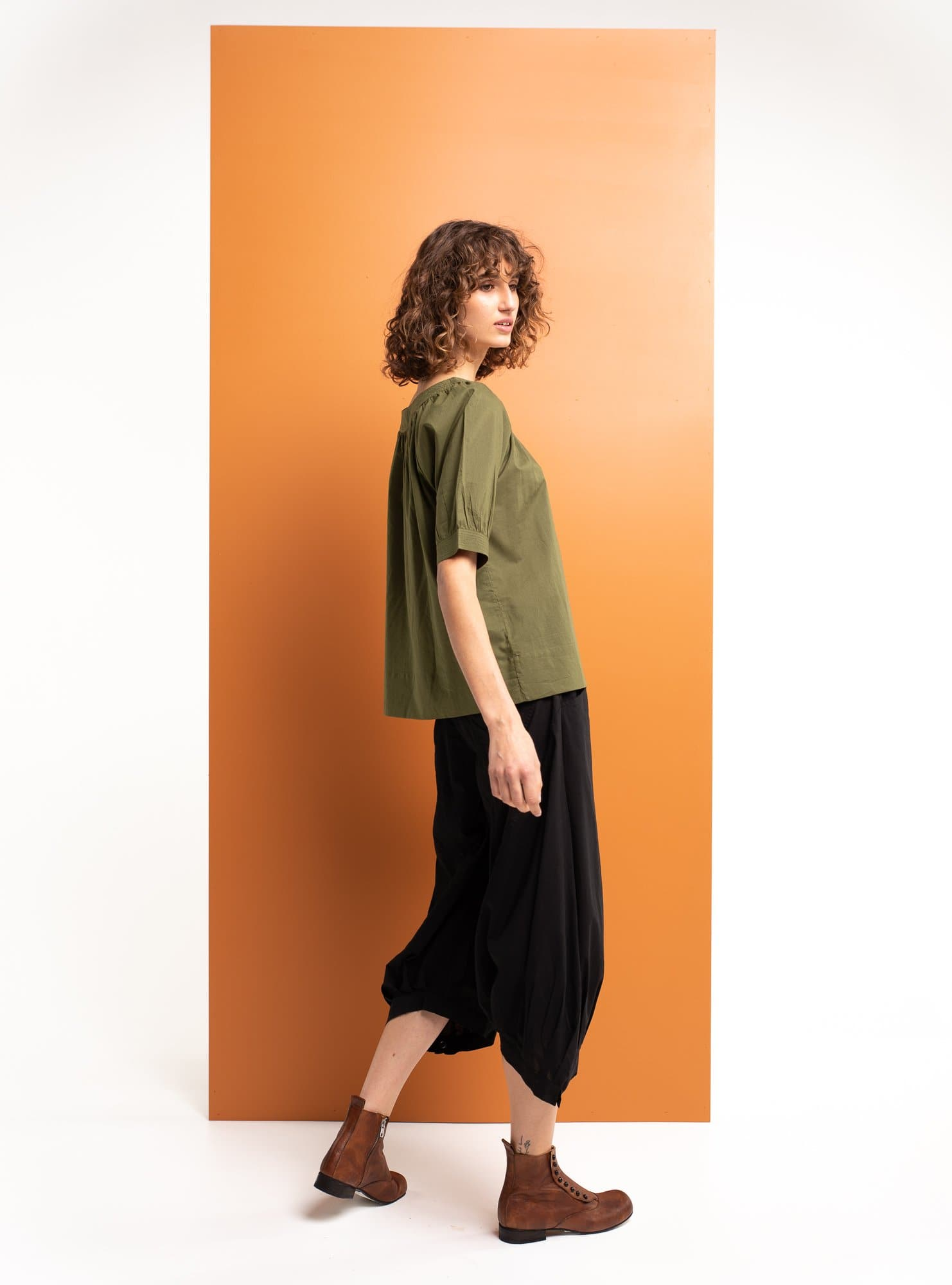 Bliss Top Basic - Khaki