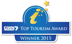 The logo for the GWN7 Top Tourism Award 2015