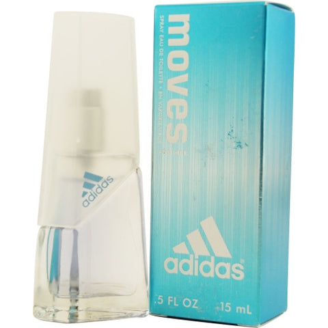 ADIDAS MOVES by Adidas EDT SPRAY .5 OZ
