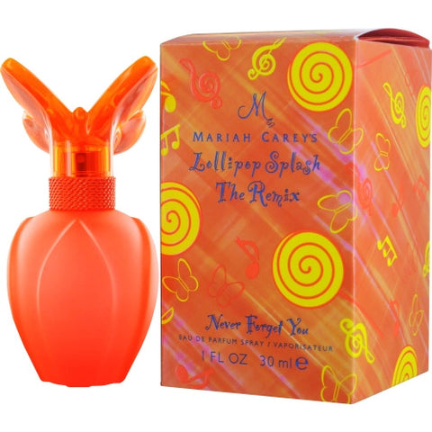 MARIAH CAREY LOLLIPOP SPLASH THE REMIX NEVER FORGET YOU by Mariah Carey EAU DE PARFUM SPRAY 1 OZ