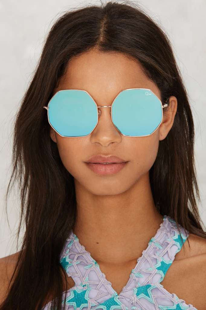 QUAY Kiss And Tell Sunglasses Blue - ACCESSORIES - QUAY AUSTRALIA - Free Vibrationz - 2