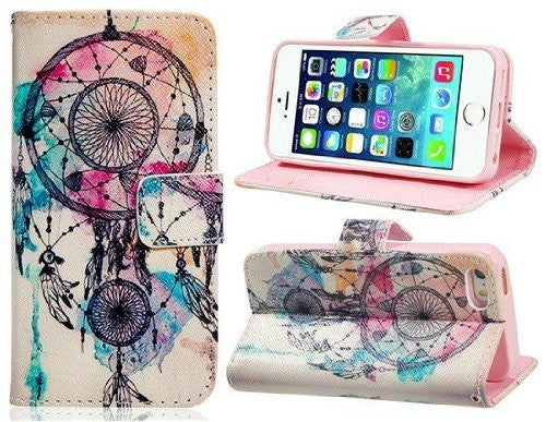 Dreamcatcher Iphone 6Plus Wallet Case - HOME SWEET HOME + GIFTS - Free Vibrationz - Free Vibrationz - 2