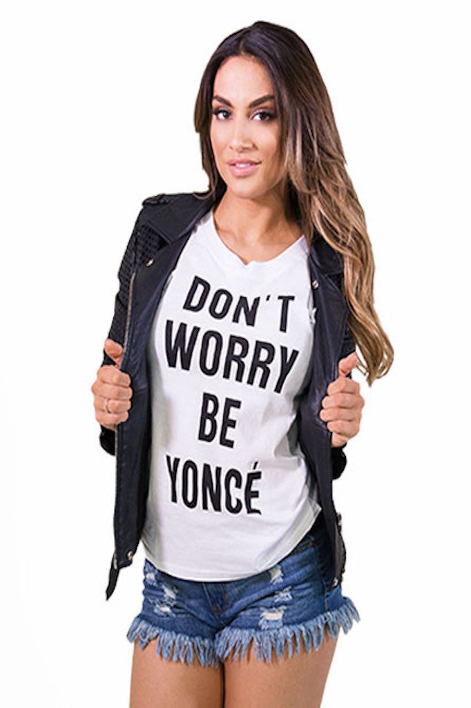 Be Yoncé Muscle Tee- TOPS-Free Vibrationz-Free Vibrationz