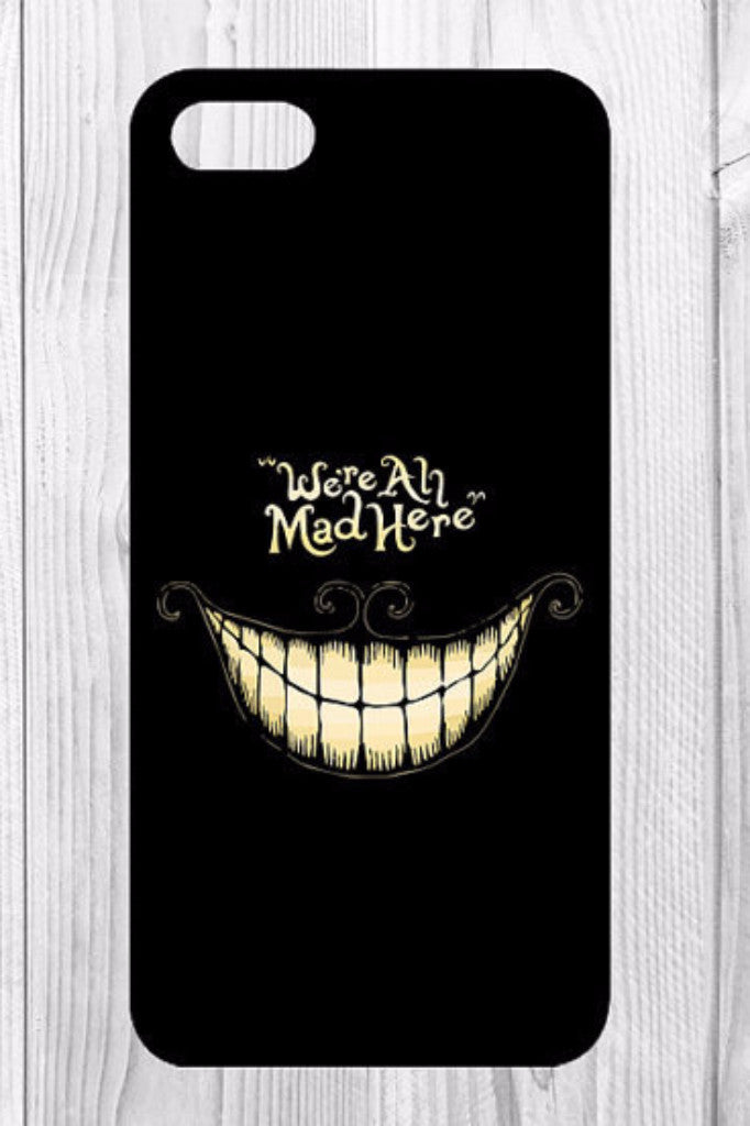 We Are All Mad Here Phone Case Iphone 6s, Wallet 6sPlus - HOME SWEET HOME + GIFTS - Free Vibrationz - Free Vibrationz - 1