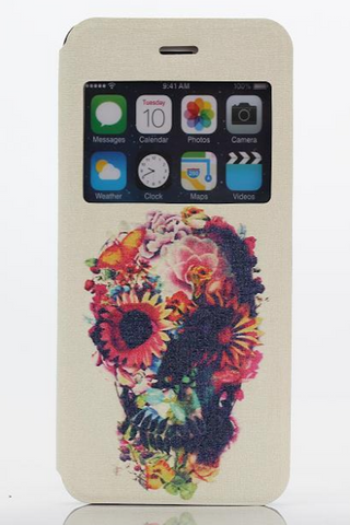 Grateful Iphone 6Plus Wallet Phone Case - HOME SWEET HOME + GIFTS - Free Vibrationz - Free Vibrationz