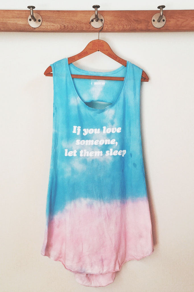 Jac Vanek Let Them Sleep Cut Out Tank- TOPS-JAC VANEK-Free Vibrationz