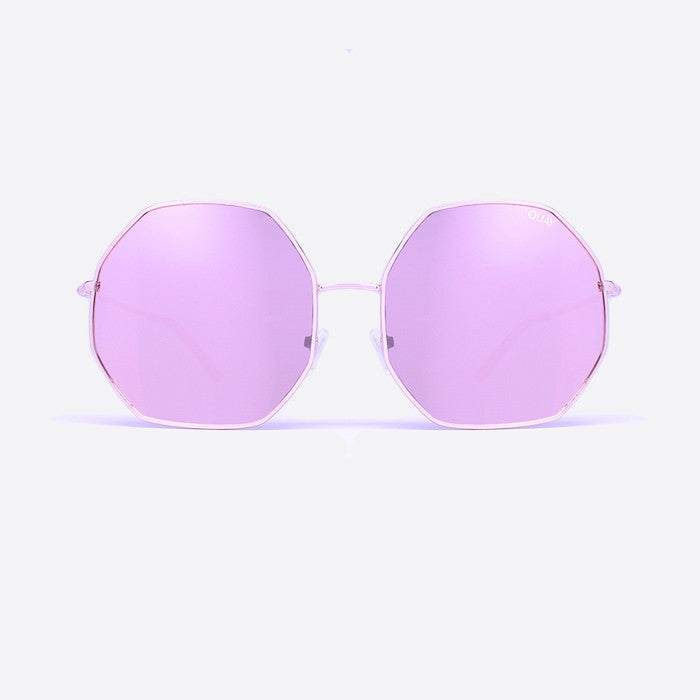 QUAY Kiss And Tell Sunglasses Rose Gold - ACCESSORIES - QUAY AUSTRALIA - Free Vibrationz - 2