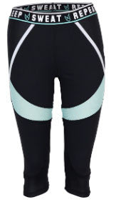 Mink Pink Repeat It Capris- ACTIVEWEAR-Mink Pink-Free Vibrationz