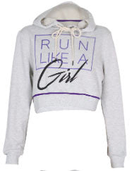Mink Pink Run Like A Girl Hooded Sweater- ACTIVEWEAR-Mink Pink-Free Vibrationz