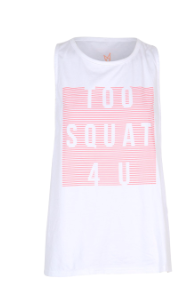 Mink Pink Squat For You Tank- ACTIVEWEAR-Mink Pink-Free Vibrationz