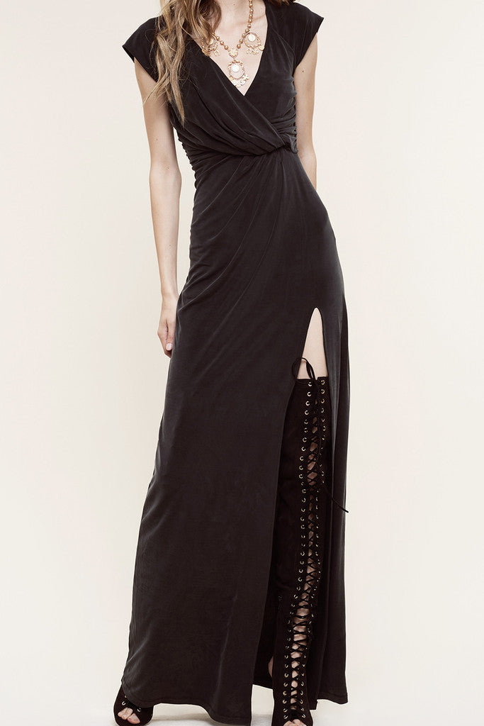 The Jetset Diaries Novella Maxi Dress Black - DRESSES - The JetSet Diaries - Free Vibrationz - 6