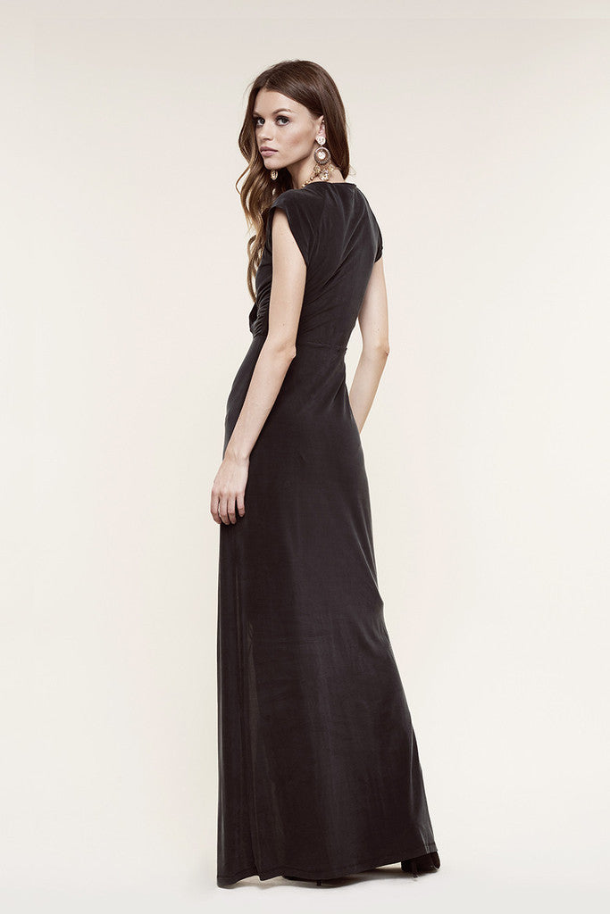 The Jetset Diaries Novella Maxi Dress Black - DRESSES - The JetSet Diaries - Free Vibrationz - 5