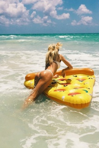 Pizza Pool Float - HOME SWEET HOME + GIFTS - Free Vibrationz - Free Vibrationz - 1