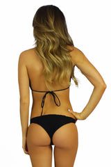Soah Luca Lace Halter Top Black - SWIMWEAR - SOAH - Free Vibrationz - 4