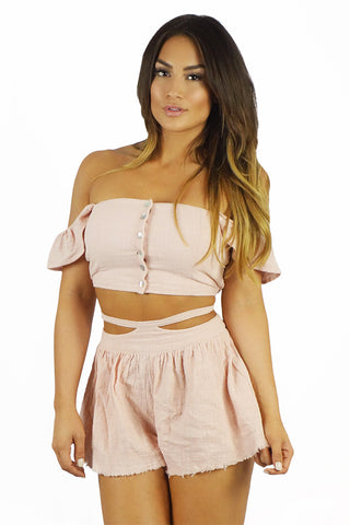 Somedays Lovin Sun And Sand Woven Two Piece Set - TWO PIECES - SOMEDAYS LOVIN - Free Vibrationz - 1