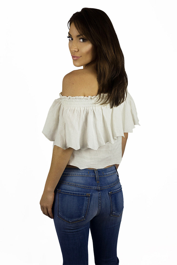 Somedays Lovin Bohemian Off The Shoulder Top - TOPS - SOMEDAYS LOVIN - Free Vibrationz - 4