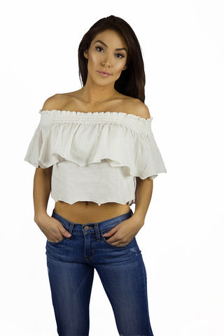 Somedays Lovin Bohemian Off The Shoulder Top - TOPS - SOMEDAYS LOVIN - Free Vibrationz - 1