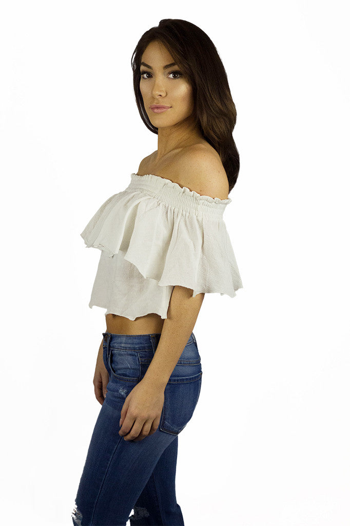 Somedays Lovin Bohemian Off The Shoulder Top - TOPS - SOMEDAYS LOVIN - Free Vibrationz - 3