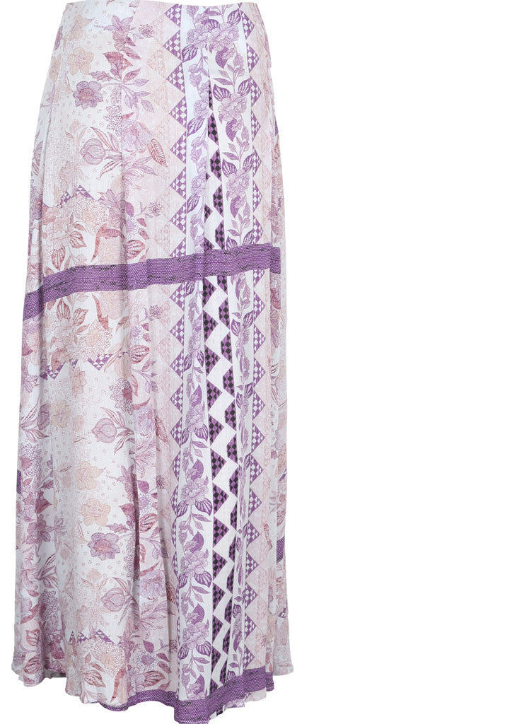 Somedays Lovin Sudden Sky Maxi Skirt Floral - BOTTOMS - SOMEDAYS LOVIN - Free Vibrationz - 6