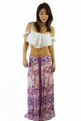 Somedays Lovin Sudden Sky Maxi Skirt Floral - BOTTOMS - SOMEDAYS LOVIN - Free Vibrationz - 8