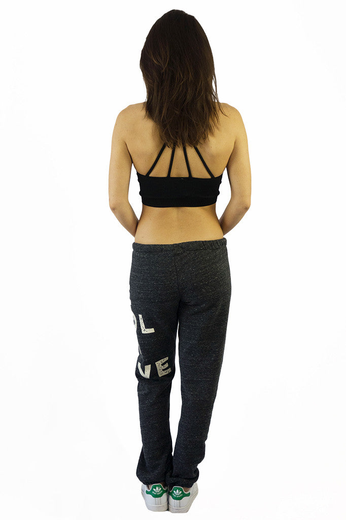 Stillwater Be Cool Or Leave Sweatpants Charcoal - BOTTOMS - STILLWATER - Free Vibrationz - 3
