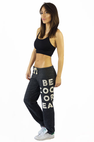 Stillwater Be Cool Or Leave Sweatpants Charcoal - BOTTOMS - STILLWATER - Free Vibrationz - 1