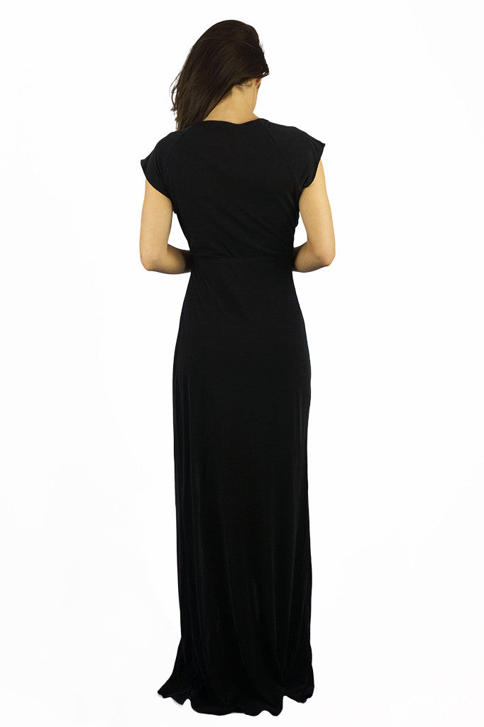 The Jetset Diaries Novella Maxi Dress Black - DRESSES - The JetSet Diaries - Free Vibrationz - 3