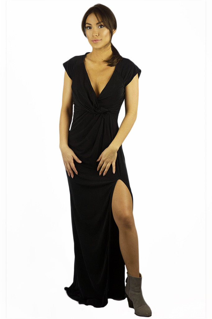 The Jetset Diaries Novella Maxi Dress Black - DRESSES - The JetSet Diaries - Free Vibrationz - 1