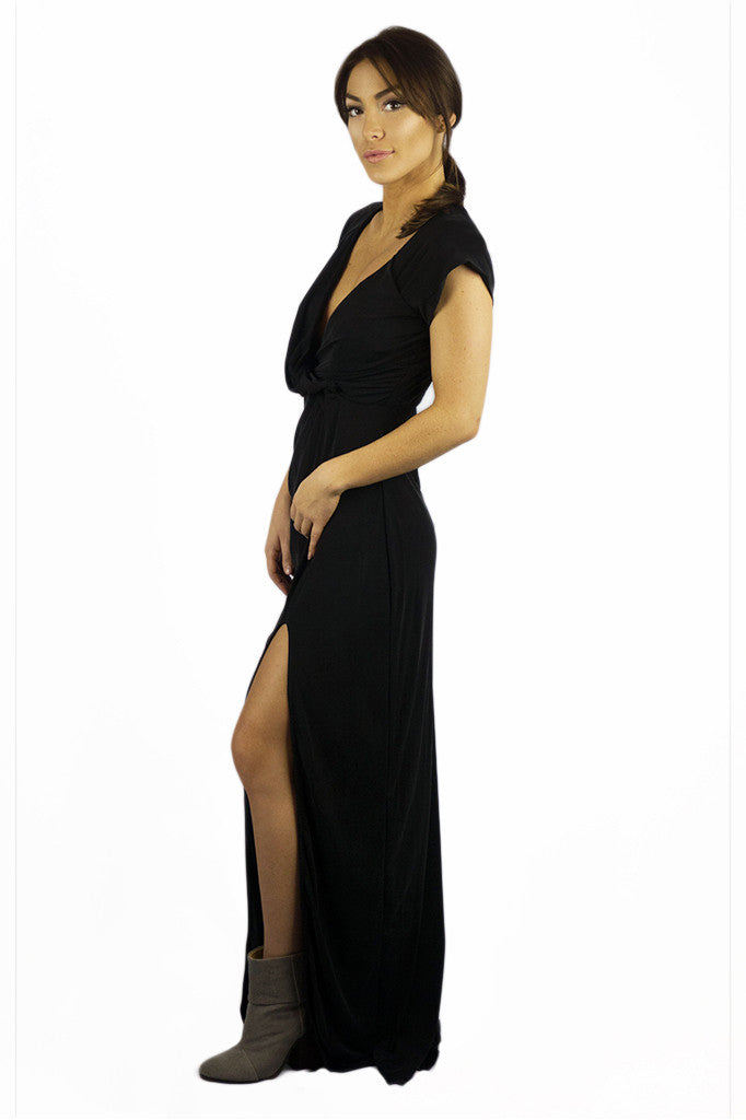 The Jetset Diaries Novella Maxi Dress Black - DRESSES - The JetSet Diaries - Free Vibrationz - 2