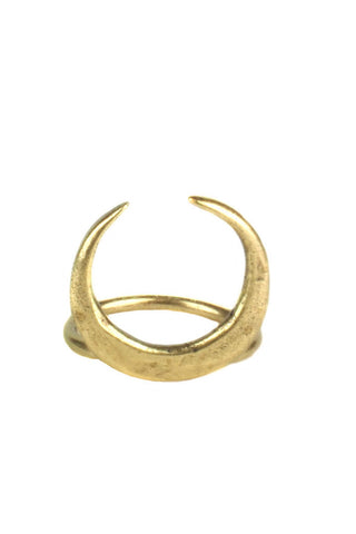 Torchlight Crescent Ring Brass - ACCESSORIES - Torchlight - Free Vibrationz - 1