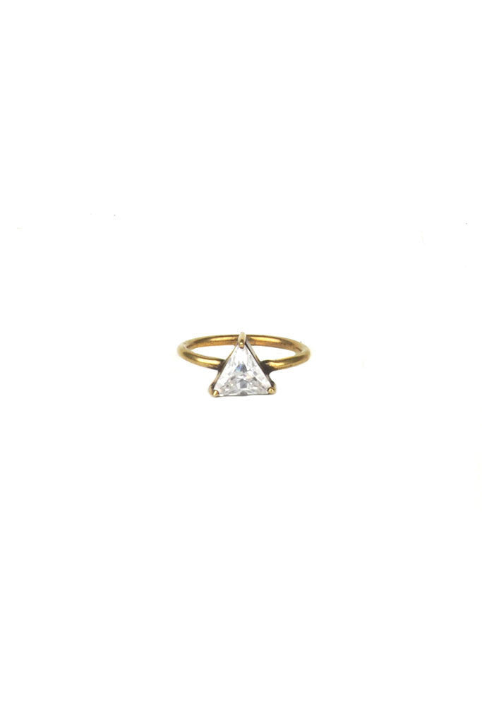 Torchlight Triangle Ring Brass - ACCESSORIES - Torchlight - Free Vibrationz