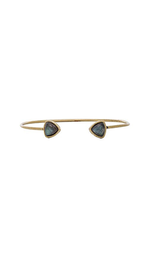 Torchlight Aurora Cuff Brass with Labradorite - ACCESSORIES - Torchlight - Free Vibrationz - 3