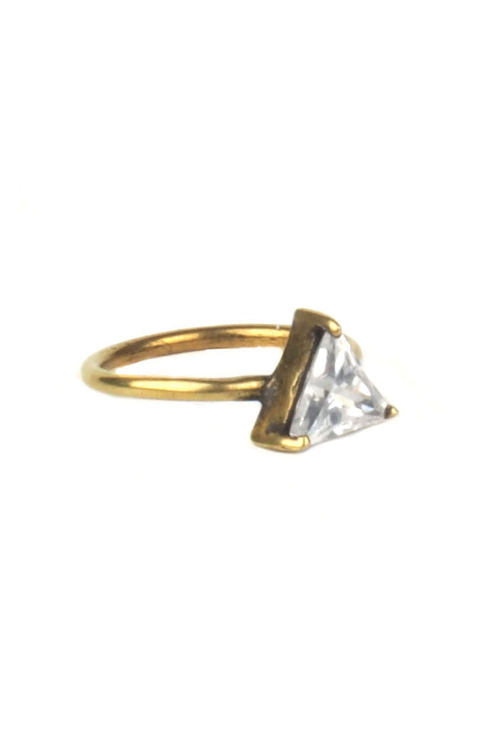 Torchlight Triangle Ring Brass - ACCESSORIES - Torchlight - Free Vibrationz - 2