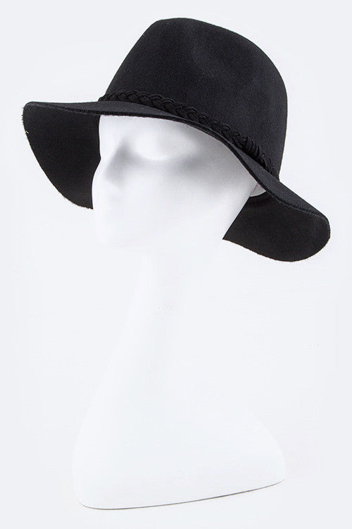 Everyday Black Hat- ACCESSORIES-LA JEWELRY PLAZA-Free Vibrationz