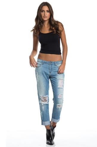 Elan Didn't Steal Your Boyfriend Jeans- BOTTOMS-ELAN-Free Vibrationz
