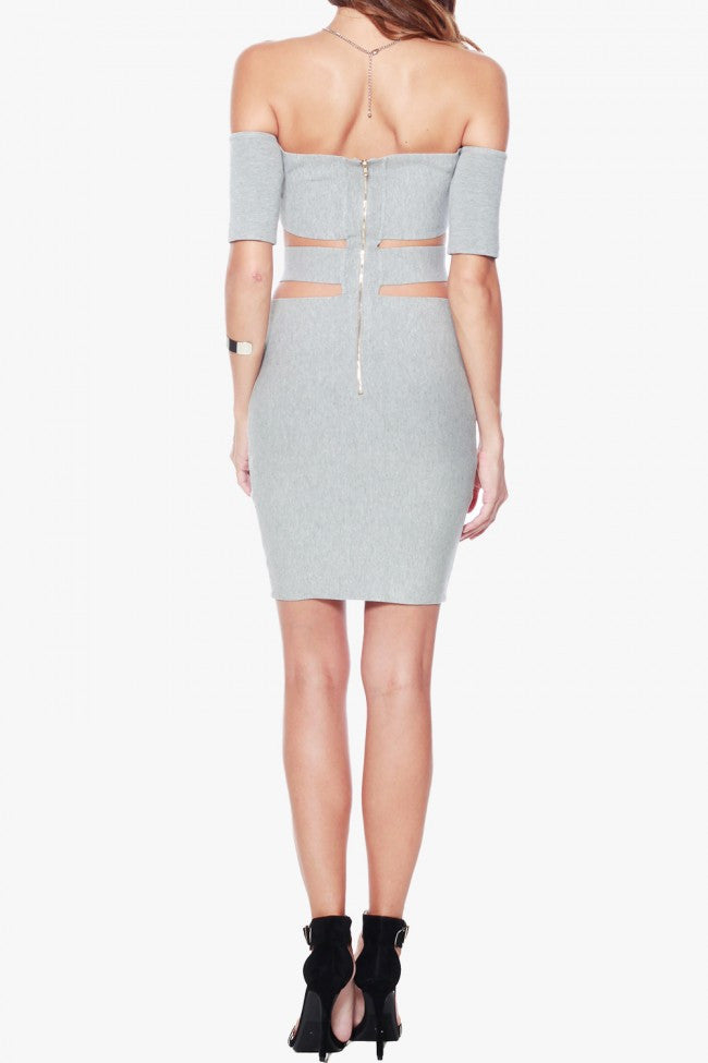 Rehab Can't Stop Me Dress - Grey - DRESSES - REHAB - Free Vibrationz - 6