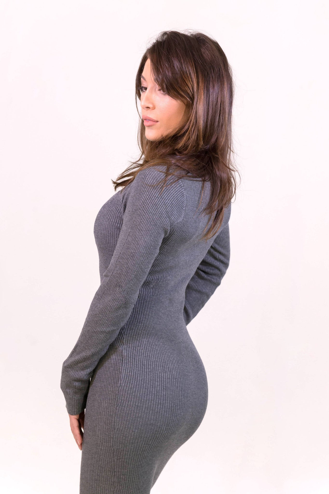 Rehab Slay Dress - Grey - DRESSES - REHAB - Free Vibrationz - 3