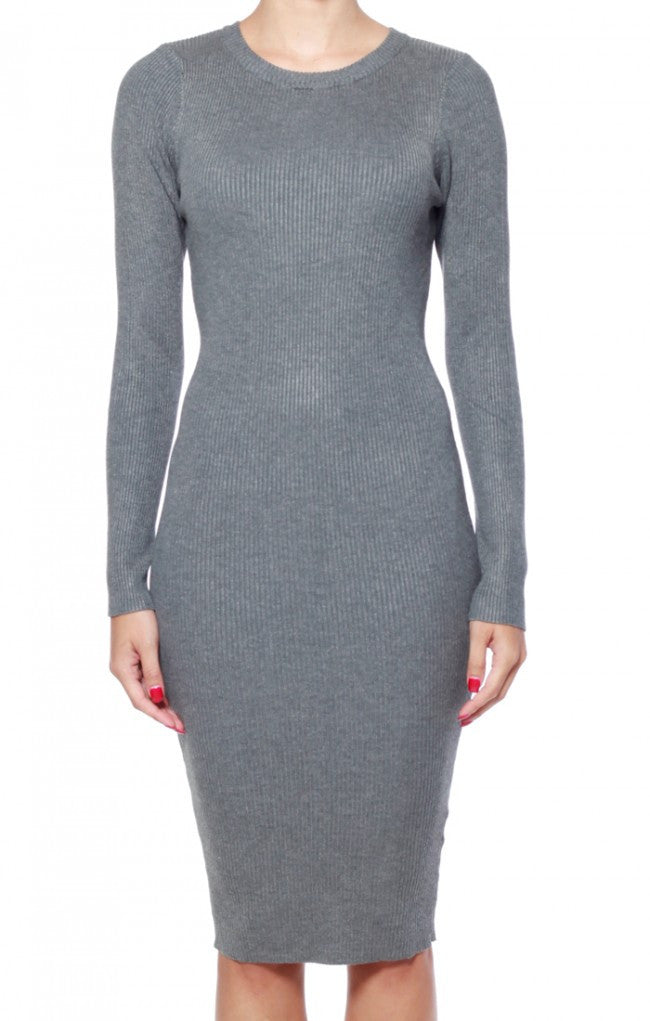 Rehab Slay Dress - Grey - DRESSES - REHAB - Free Vibrationz - 4