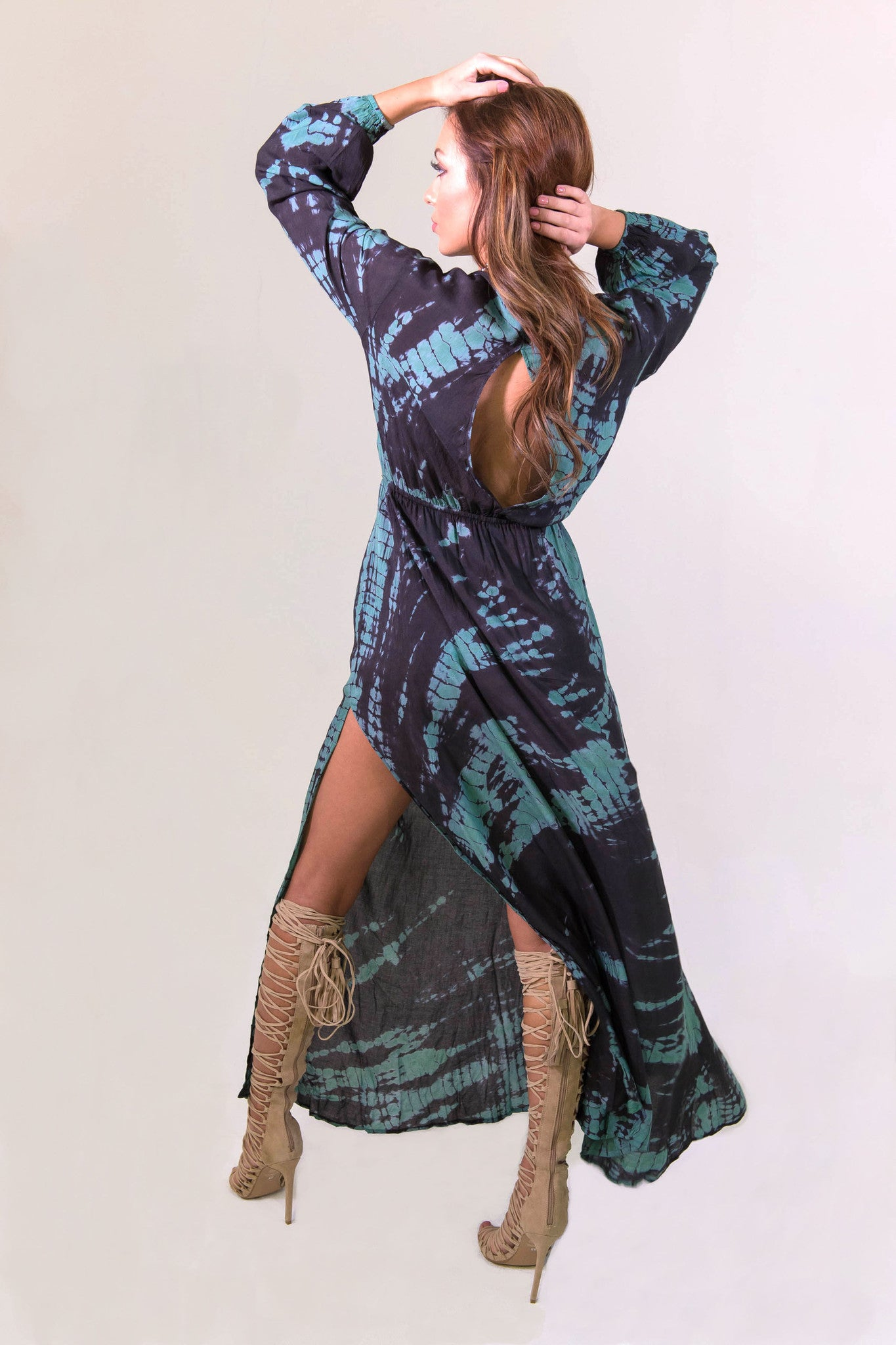 Elan Gypsy Queen Dress- DRESSES-ELAN-Free Vibrationz