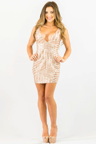NYE Sequins Dress - DRESSES - Free Vibrationz - Free Vibrationz - 1