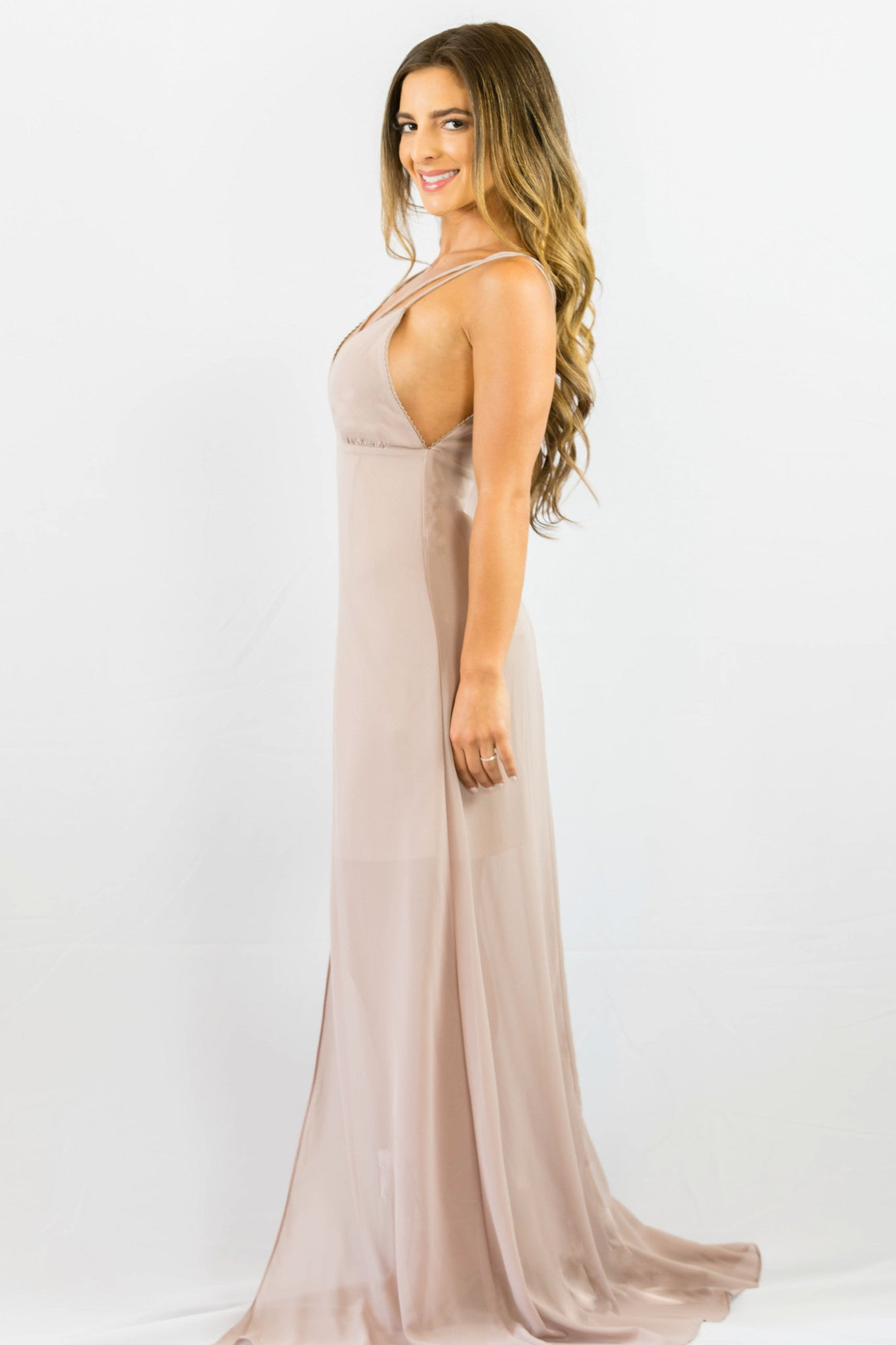 WYLDR Stay With Me Plunge Maxi Dress - DRESSES - WYLDR - Free Vibrationz - 4