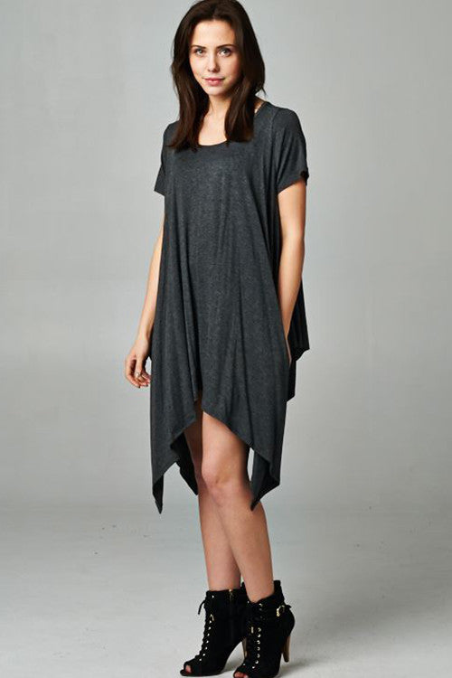Up and Down Dress Grey - DRESSES - FAITH APPAREL - Free Vibrationz - 4