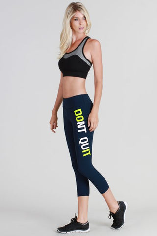 NikiBiki Dont Quit Do It Yoga Pants- ACTIVEWEAR-NIKIBIKI-Free Vibrationz