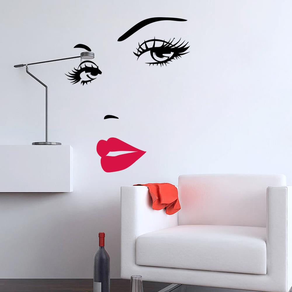Marilyn Monroe Decal- HOME SWEET HOME + GIFTS-Free Vibrationz-Free Vibrationz