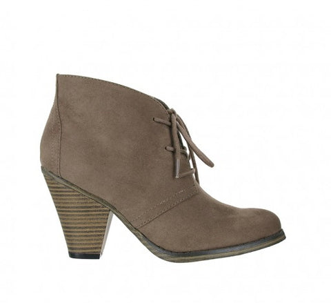 MIA Shawna Booties- Shoes-MIA Shoes-Free Vibrationz