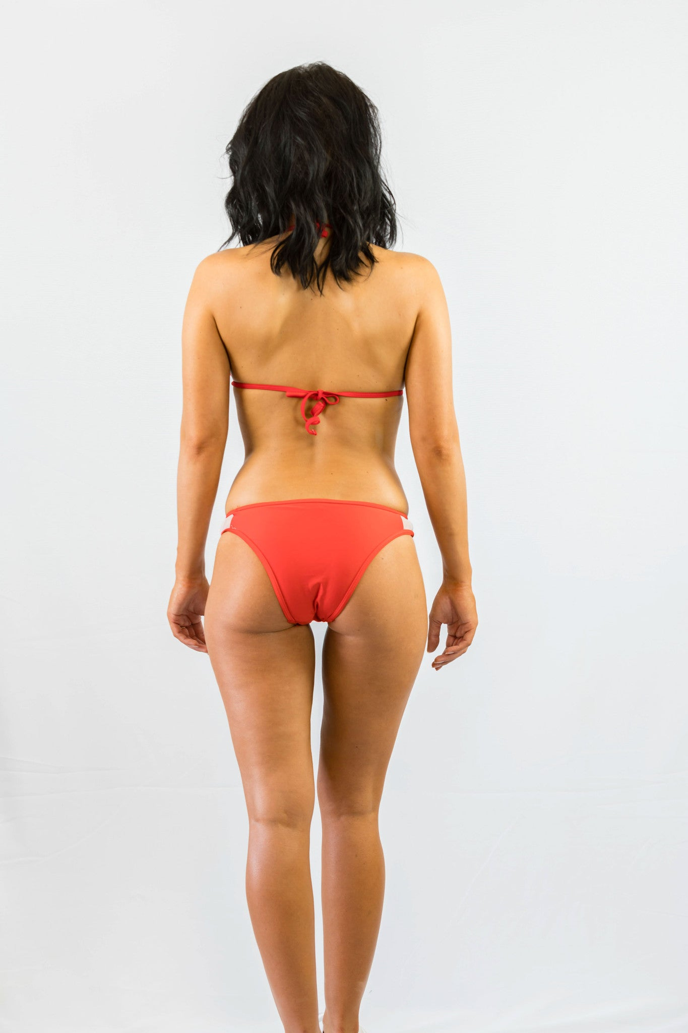 Don't Mesh With Me Bikini Set Red - SWIMWEAR - Free Vibrationz - Free Vibrationz - 5