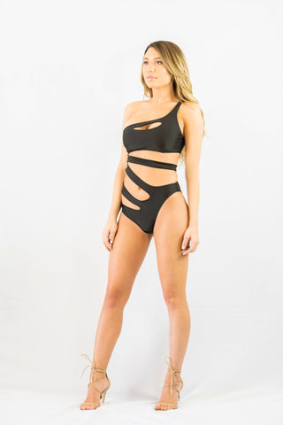 Forcefield One Piece Black