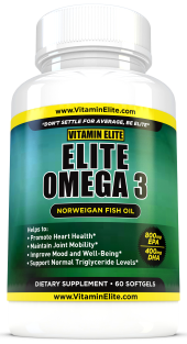 Elite Omega 3 Norwegian Fish Oil