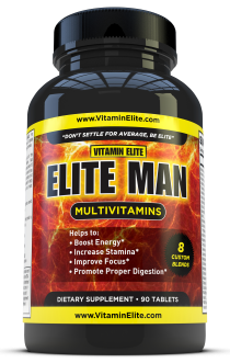 Elite Man Multivitamins for Men